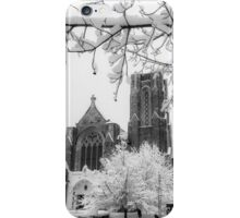 The Church of St. Mary/St. Paul in December iPhone Case/Skin