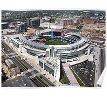 Washington Nationals Stadium Poster