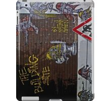 Men at work- Nathan Bowen. iPad Case/Skin