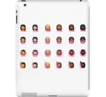 Diversity iPhone emojis iPad Case/Skin