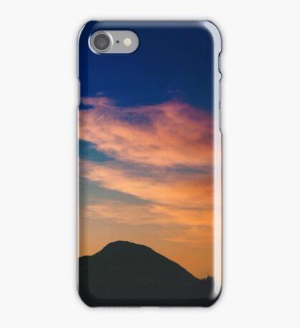 Spanish clouds at sunset iPhone Case/Skin