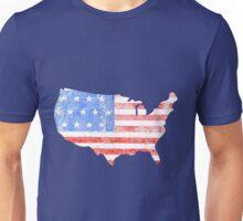 USA Watercolor - Patriotic Unisex T-Shirt