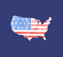 USA Watercolor - Patriotic Unisex T-Shirt