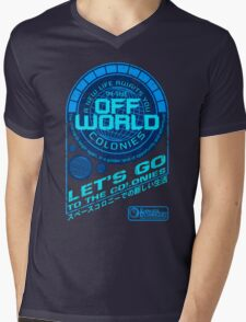 Off World Mens V-Neck T-Shirt