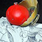 Pomegranate and pot by Kostas Koutsoukanidis