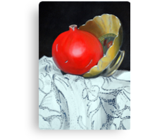 Pomegranate and pot Canvas Print