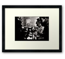 French drinks Framed Print