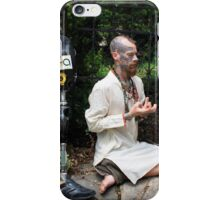 Infinity Ra El and hand Mudra iPhone Case/Skin