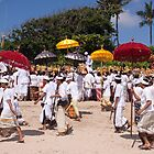 Melasti Procession, Sanur Beach, Bali by Ashlee Betteridge