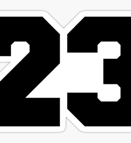 23 Sticker
