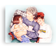 A day with Gramma Canvas Print