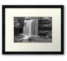 Ricochet Falls (version II) Framed Print