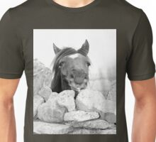 Art by Dots - Horse Head Unisex T-Shirt