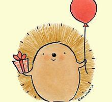 Happy Birthday Hedgehog by zoel