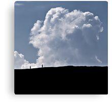 Make Clouds Friends Canvas Print