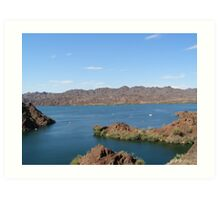 Watersports on Lake Havasu Art Print