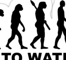 Evolution Born to water ski Sticker