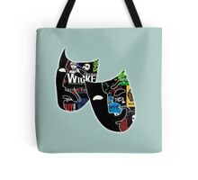 Theatre Masks Collage Tote Bag