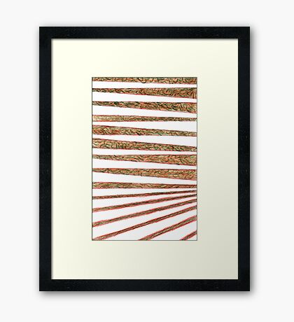Wallpaper - Tigerstripe Framed Print