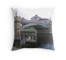 Skeldergate Bridge Throw Pillow