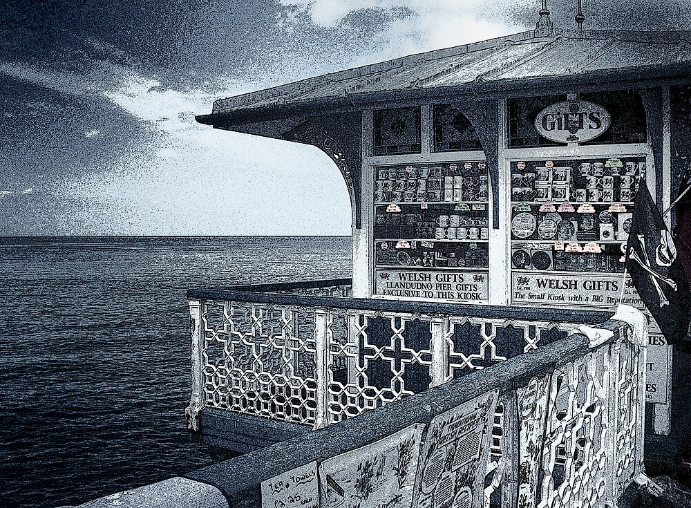 The Pier Gift Shop by Kelvin Hughes