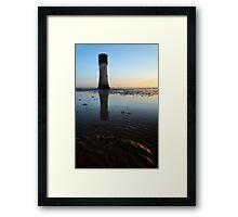 Spurn Point Low Light Framed Print