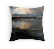 Coffin Bay, South Australia at dusk. Throw Pillow