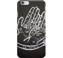 The tarot card of the stars iPhone Case/Skin