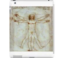 Vitruvian Man after da Vinci by Pierre Blanchard iPad Case/Skin