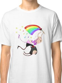 Funny siamese twins fairies. Classic T-Shirt