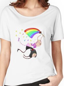 Funny siamese twins fairies. Women's Relaxed Fit T-Shirt