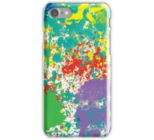 Colorful Paint Splatter iPhone Case/Skin