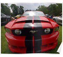 Roush Mustang Poster