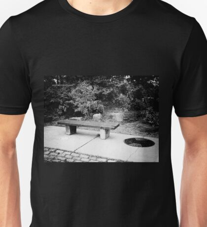 Waiting for You Black and White Unisex T-Shirt