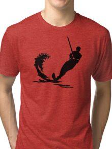 Water skiing Tri-blend T-Shirt