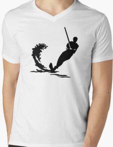 Water skiing Mens V-Neck T-Shirt