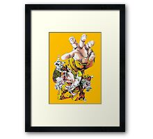 Josuke top view Framed Print