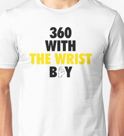 360 With The Wrist Boy | Black & Gold Unisex T-Shirt