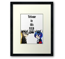 Welcom To This Wild Maze of Life - PersonaQ Framed Print