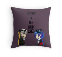 Welcom To This Wild Maze of Life - PersonaQ Throw Pillow