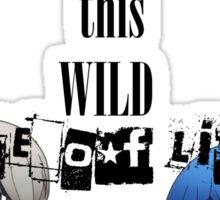 Welcom To This Wild Maze of Life - PersonaQ Sticker