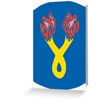 196th Infantry Brigade (United States) Greeting Card