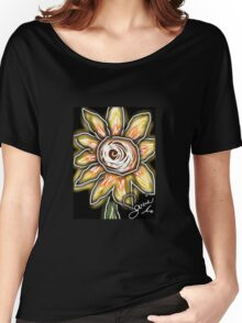 Night of the sunflowers Women's Relaxed Fit T-Shirt