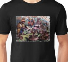 Painting of snake charmers Unisex T-Shirt