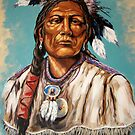 Native American Men by Susan Bergstrom