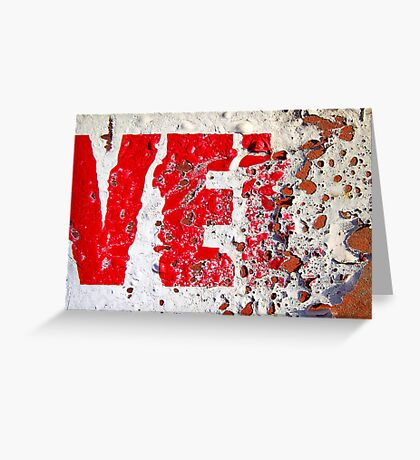 Ve.... Greeting Card