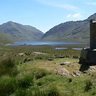 The Valley,DooLough,,from the Famine/Hunger Walk Cross,,Co.Mayo,Ireland. by Pat Duggan
