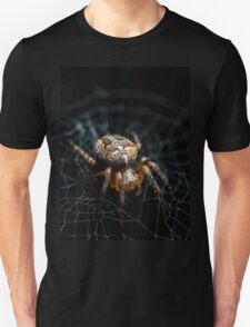 Spider on the Web  Unisex T-Shirt