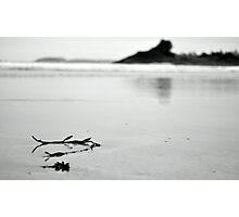 Beach scene nice and sorene  Photographic Print