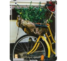 Yellow Bicycle iPad Case/Skin